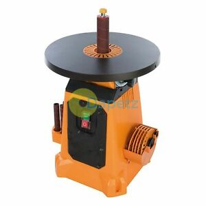Tsps370 Oscillating Tilting Table Spindle Sander 350 W 240 V Orange 380 Mm