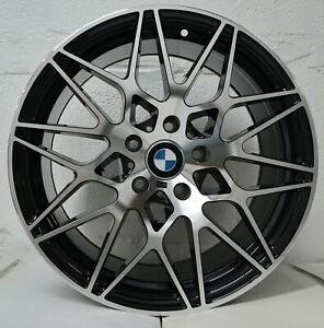 18 Inch Gloss Black Rims Fits Bmw 535i Xdrive 2009 2016 Set 4 Wheels