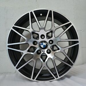 18 Inch Satin Black Rims Fits Bmw 328d Base 2014 2018 Set 4 Wheels