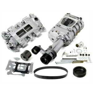 Weiand 7750 1 Pro street Supercharger Kit Chevy Small Block