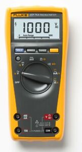 Fluke 177 With Nist Calibration Handheld Multimeter Type Digital