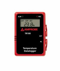 Amprobe Tr100 a Temperature Data Logger With Digital Display