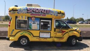 Snowie Bus Shaved Ice Food Truck Business