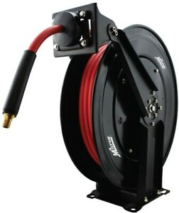 Milton Industries Inc 3 8 In Auto Retracting Air Hose Reel Wall Mountable
