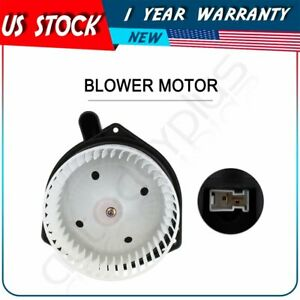 Hvac Heater Blower Motor With W Fan Cage For Chevrolet Gmc Replacement