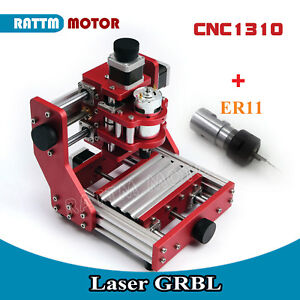 Benbox Mini Diy Cnc 1310 Desktop All Metal Cutting Engraving Milling Machine Kit