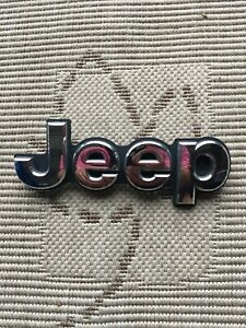 2014 2018 Jeep Grand Cherokee Trail Hawk Trailhawk Rear Liftgate Emblem Mopar