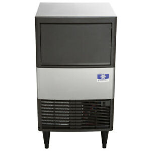 19 11 16 Air Cooled Undercounter Dice Cube Ice Machine With 31 Lb Bin 115v