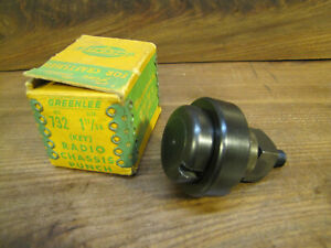 Greenlee No 732 Key Radio Chassis Knock Out Punch 1 11 64