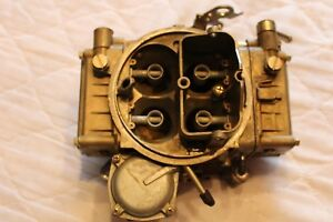600 cfm Holley Carburetor Four Barrel 80457 1 2627