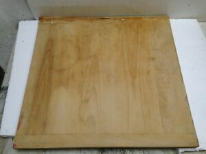 Wooden Cutting Chopping Board Dough Bread Vintage Patina 20 X 20 X 3 4