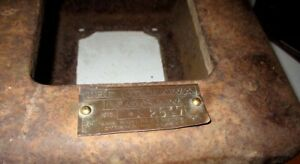 Ottawa Log Saw Engine Water Hopper And Brass Tag Gas Hit Miss