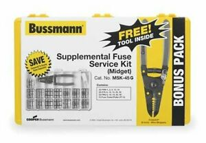 Bussmann Msk 45 Midget Fuse Service Kit pack Of 1