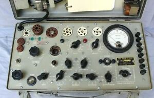 Excellent Accurate Military Tv7d u Tube Tester 6001