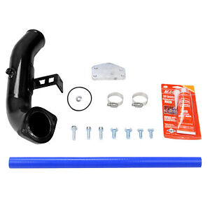 Diesel Lly Duramax Egr Delete Kit Intake Elbow For 04 5 05 Chevy Gmc 6 6l