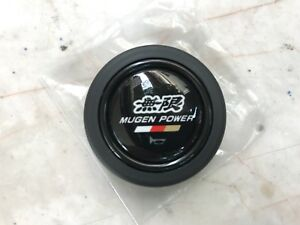 Jdm Genuine Honda Mugen Power Racing Iii 3 Steering Wheel Horn Button Momo Rare