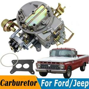 Carburetor Carb For 1968 1973 Ford Mustang 1964 1978 F100 289 Cu 302 Cu 351 Cu