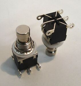 Dpdt Momentary Foot Switch Nominally Open Or Closed Heavy Duty