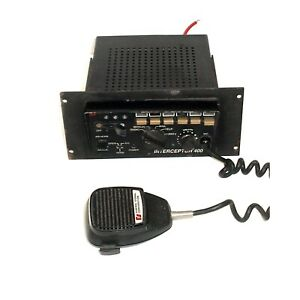 Federal Signal Pa400ss Interceptor 400 Siren And Light Control System 2
