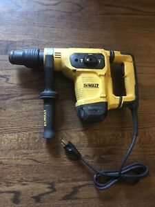 New Dewalt D25481 10 5a 1 9 16 Sds Max Combination Rotary Hammer Drill