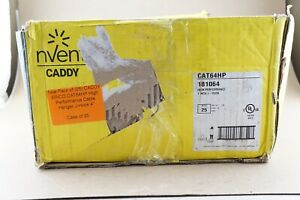 New Pack Of 25 Caddy Erico Cat64hp High Performance Cable Hanger J hook 4