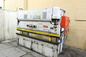 75 Ton X 10 Pacific Hydraulic Press Brake Yoder 68381