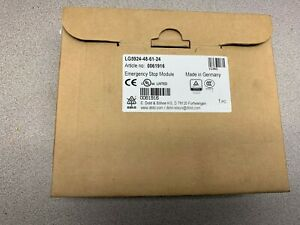 New In Box Dold Sohne Emergency Stop Module Lg5924 48 61 24