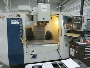 Used 1998 Hurco Vertical Machining Center Vmc Bmc4020 Cnc Mill Ultimax 3