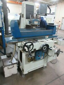 Used Kent Kgs 818ahd Automatic Hydraulic Surface Grinder W Inc Downfeed