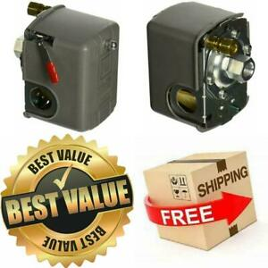 Square D 95 125 Psi Air Compressor Pressure Switch Control Valve 9013fhg12j52m1x