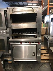 Montague Custom Oven With Salamander Broiler And Over Head Bakers Oven