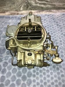 1968 Ford Shelby Gt500 Mustang 428pi Holley C8zx A List 4129 Factory Carburetor