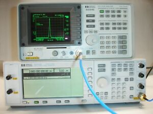 Agilent Hp 8594e Portable Spectrum Analyzer 9 Khz 2 9 Ghz Opt 021 Need Repairs