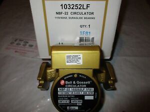 Bell Gossett 103252 Nbf 22 Circulating Pump Brand New