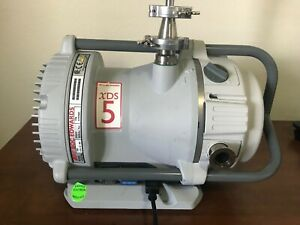 Edwards Xds5 Dry Scroll Pump Fully Operational Pulls 20 Microns 110 220v
