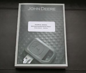 John Deere 4930 Self propelled Sprayer Service Repair Manual Tm1386