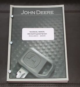 John Deere 4930 Self propelled Sprayer Diagnosis Test Manual Tm1393