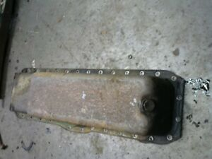 Oliver 88 Gas Row Crop Tractor Oil Pan
