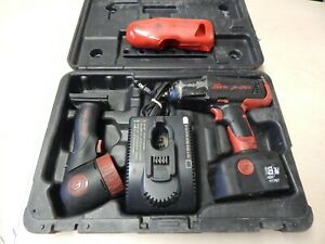 Snap On Cordless Impact Wrench 1 2 Drive 18 Volt Ct4850 As Is