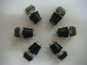 Lot Of 100 Momentary Pushbutton Switches With Incandescent Bulb New And Unused
