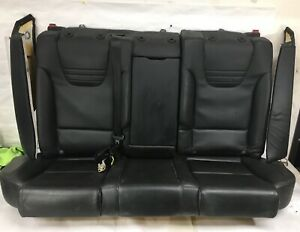 Oem 2004 2005 Audi S4 Wagon Rear Recaro Bench Seat Cushion Leather Black