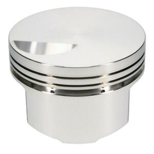 Srp Engine Piston Set 139480 4 350 Bore 3 0cc Flat Top 2v For Chevy Bbc