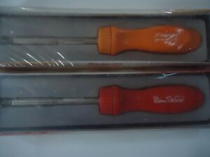 Snap On Ratcheting Screwdrivers In Red And Orange Signature Series