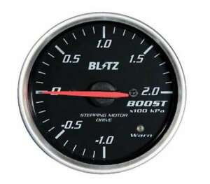 Blitz Racing Meter Sd Analog Meter 52 Boost Meter 19571 Black From Japan