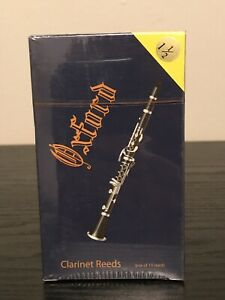 Oxford Clarinet Reeds Strength 1.5 Box of 10