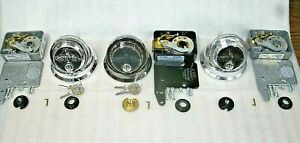 Lot Of 3 S g Combo Safe Locks W liberty Logo 3 Different Colors 2 6741 1 6730