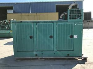 _125 Kw Cummins Onan Generator 12 Lead Reconnectable Weather Proof Enclosure