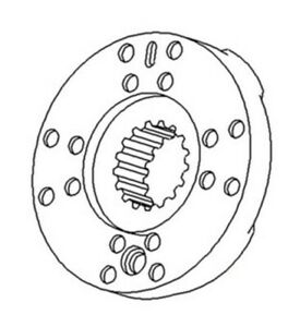70277326 70248221 New Brake Plate Assembly For Allis Chalmers 175 180 185