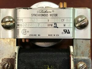 Telechron B13 Model 322401711 Synchronous Motor Brand New Government Overstock