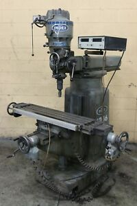 2 Hp Wells Index Model 847 Veritcal Mill Yoder 69699